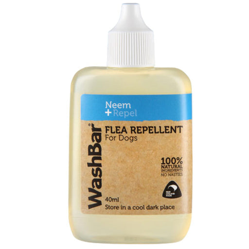 WashBar 100% Natural Flea Repellent for Dogs