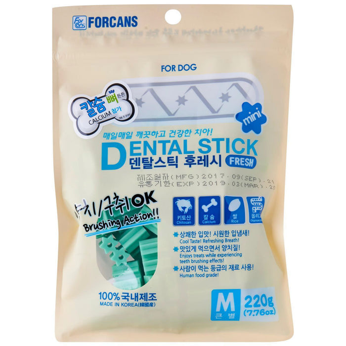 <b>10% OFF:</b> Forcans Fresh Dental Sticks For Dogs