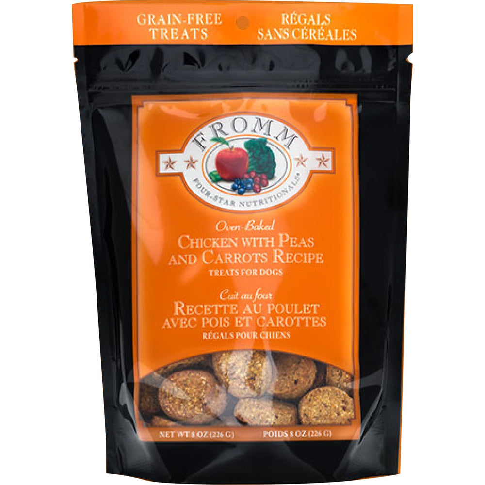 <b>10% OFF:</b> Fromm Grain Free Oven Baked Chicken With Peas & Carrots Biscuits