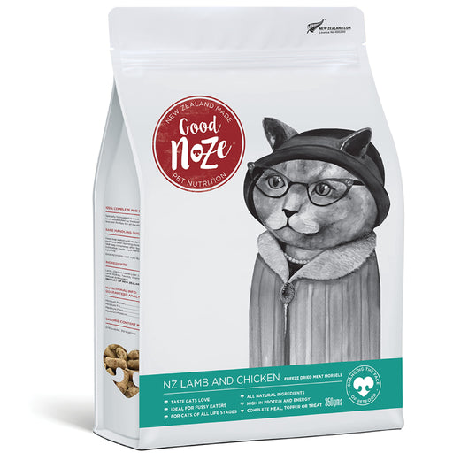 Good Noze Gladys Freeze Dried NZ Lamb & Chicken Cat Food