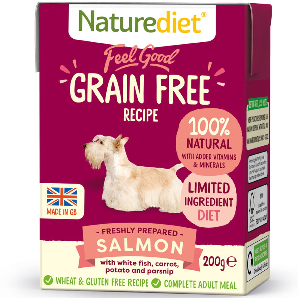 NatureDiet Feel Good Grain Free Salmon Wet Dog Food