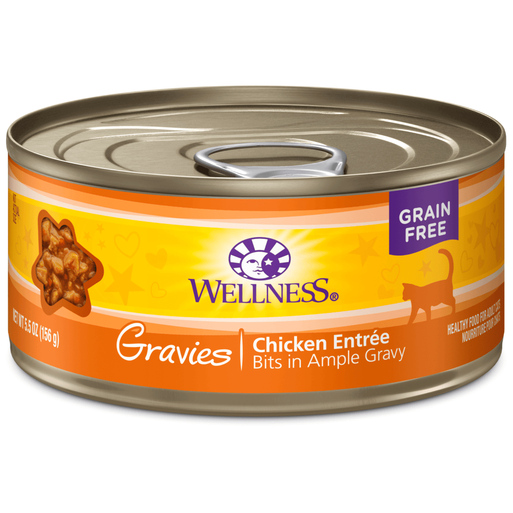 <b>15% OFF:</b> Wellness Complete Health Grain Free Gravies Chicken Dinner Wet Cat Food
