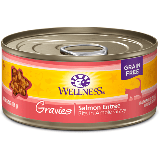 <b>15% OFF:</b> Wellness Complete Health Grain Free Gravies Salmon Entrée Wet Cat Food