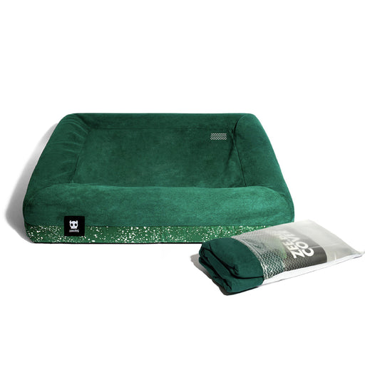 <b>10% OFF:</b> Zee Dog Green/Speckled Zee.Bed Cover