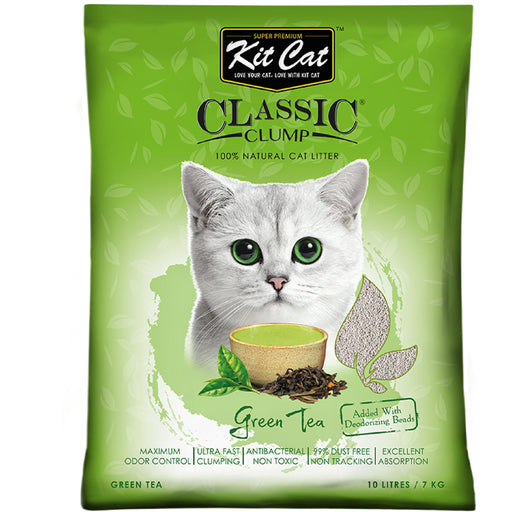 Kit Cat Classic Clump Green Tea Cat Litter