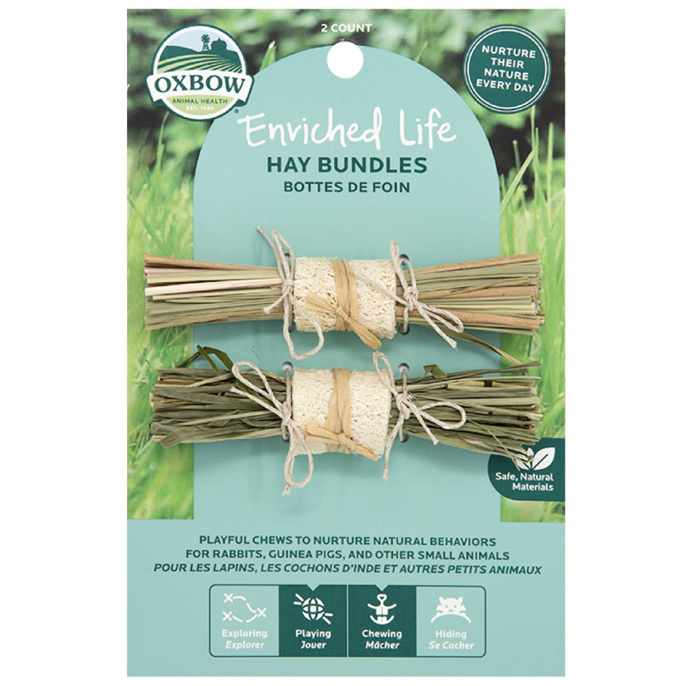 <b>20% OFF:</b> Oxbow Enriched Life Natural Chews Hay Bundles