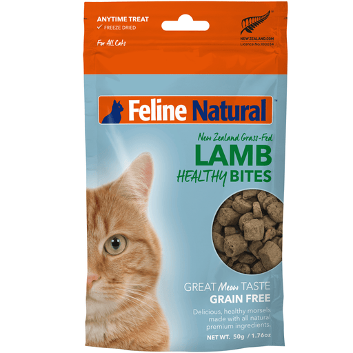 <b>20% OFF:</b> Feline Natural Freeze Dried Lamb Healthy Bites