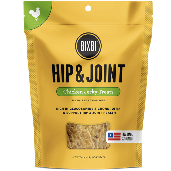 [PAWSOME] <b>15% OFF:</b> Bixbi Hip & Joint Grain Free Dehydrated Chicken Recipe Jerky Dog Treats