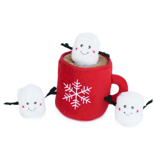 ZippyPaws Holiday Zippy Burrow - Hot Cocoa