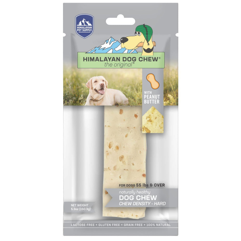 Himalayan Pet Supply Peanut Butter Extra-Large Dog Chew