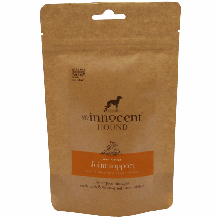 The Innocent Pet Joint Support Sausages With Turmeric & Pepper Extract Dog Treats