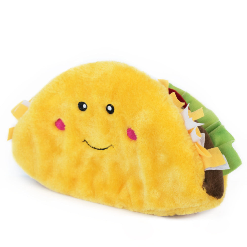 [PAWSOME] <b>15% OFF:</b> ZippyPaws NomNomz® Jumbo Taco Toy