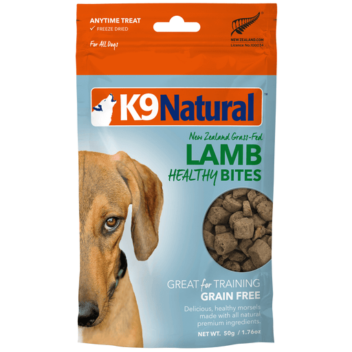 <b>20% OFF:</b> K9 Natural Freeze Dried Lamb Healthy Bites