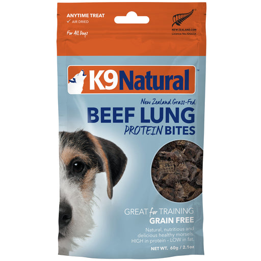 <b>20% OFF:</b> K9 Natural Freeze Dried Beef Lung Protein Bites
