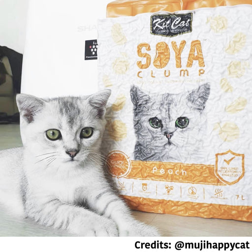 [PAWSOME DEAL] <b> 6 FOR $42:</b> Kit Cat Soya Clump Cat Litter