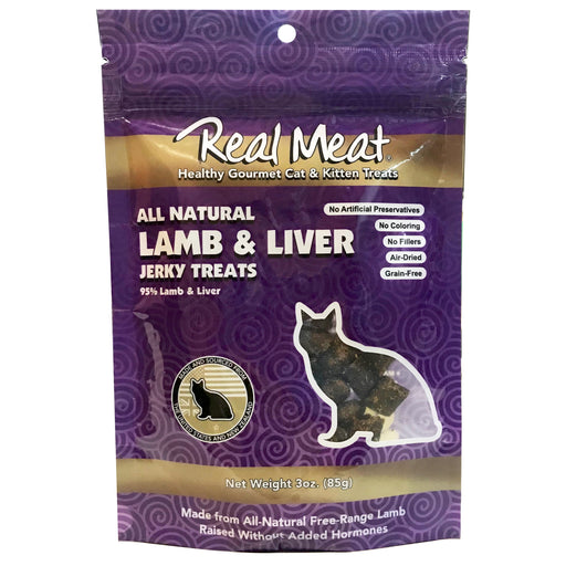 <b>5% OFF:</b> Real Meat Grain Free Lamb & Liver Jerky For Cats
