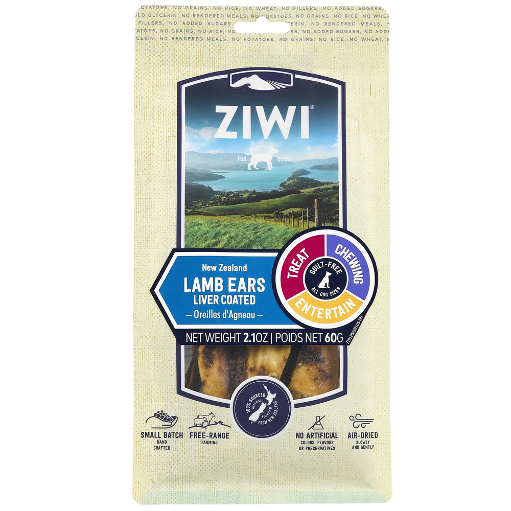 <b>20% OFF:</b> Ziwi Peak Air Dried Lamb Ears Dog Treats
