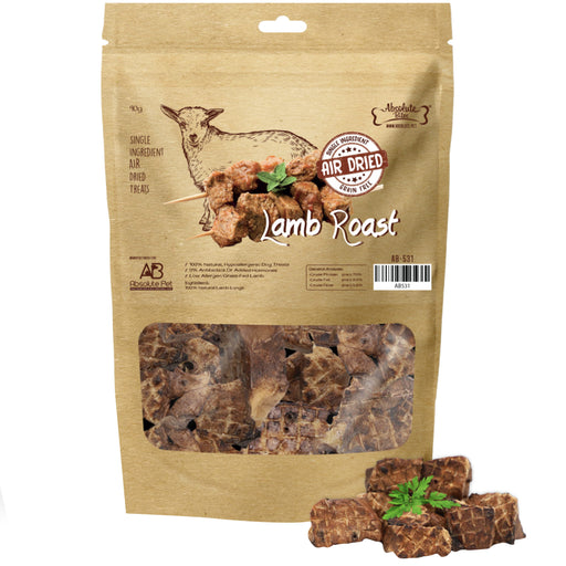 Absolute Bites Air Dried Lamb Roast Treats