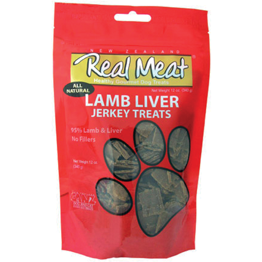 <b>5% OFF:</b> Real Meat Grain Free Lamb Liver Jerky For Dogs
