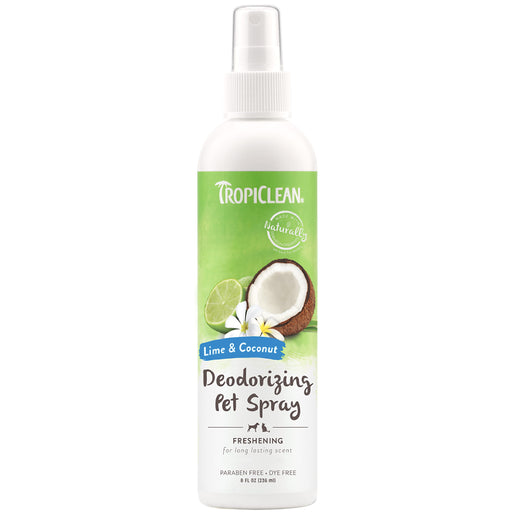 <b>15% OFF:</b> TropiClean Lime & Coconut Deodorizing Pet Spray