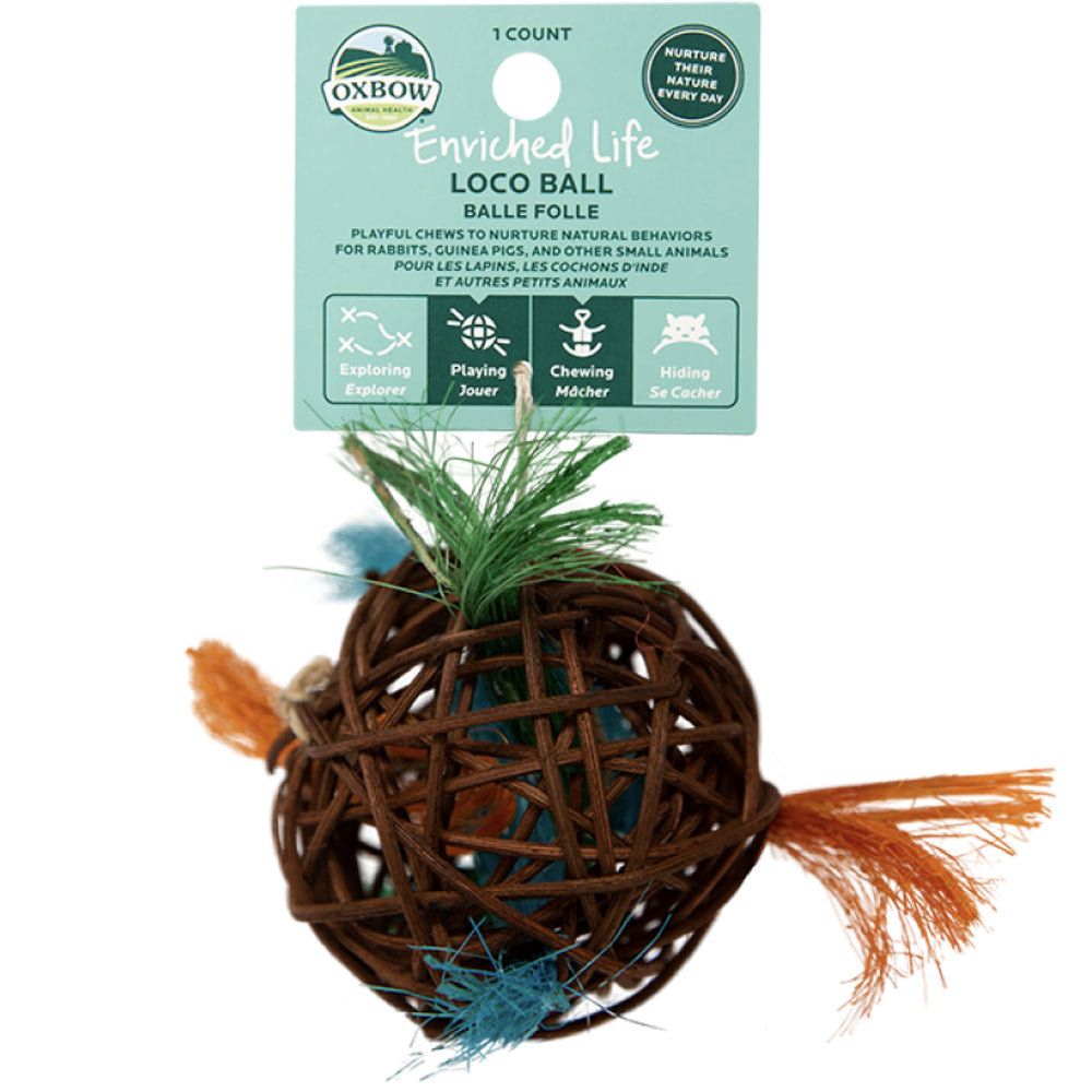 <b>20% OFF:</b> Oxbow Enriched Life Natural Chews Loco Ball