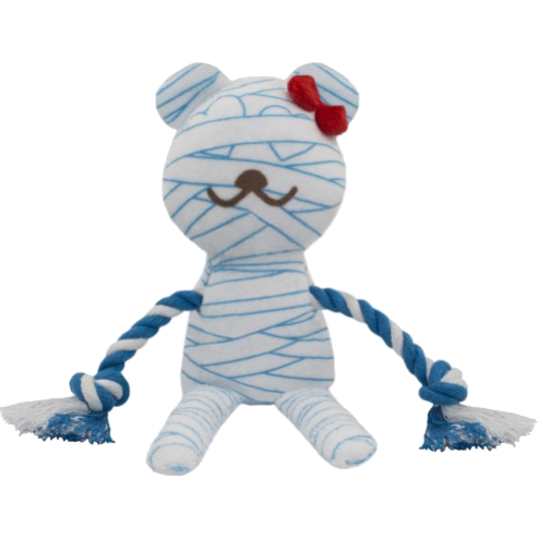 Lovelly Creations Ghost Series - Mummy Dog Toy