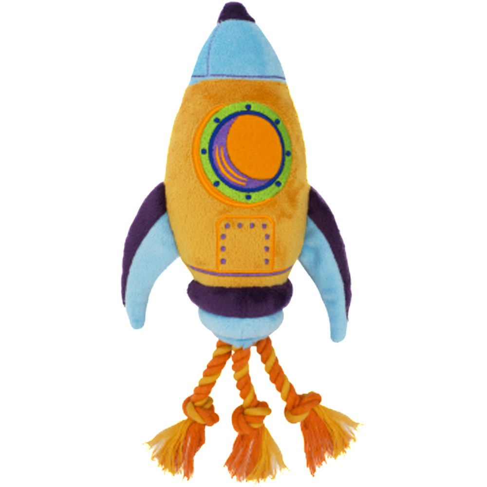 Lovelly Creations Planet Series - Rocket Dog Toy