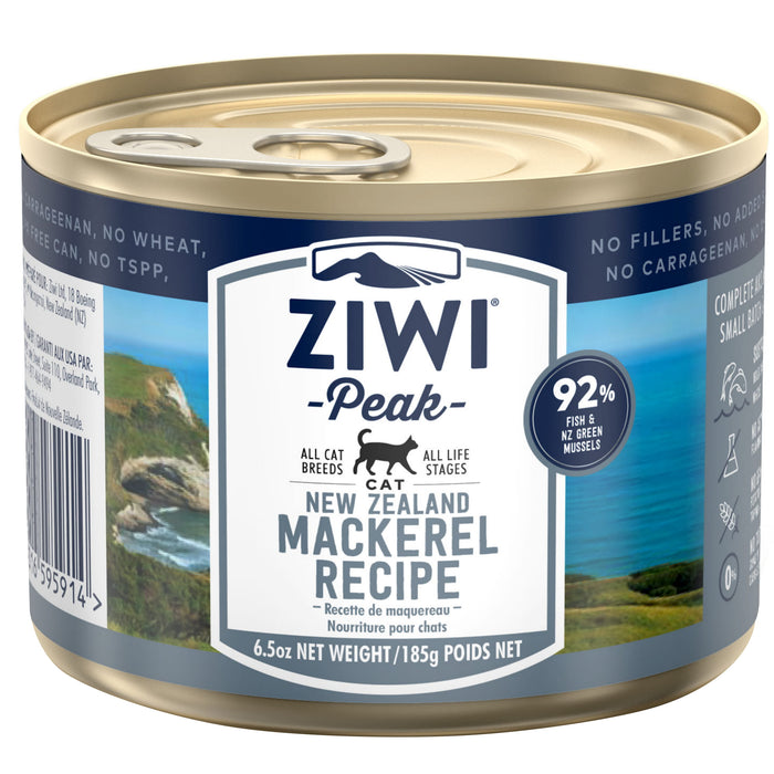 [PAWSOME] <b>20% OFF:</b> Ziwi Peak Mackerel Recipe Wet Cat Food