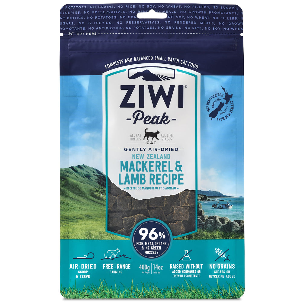 [PAWSOME] <b>20% OFF:</b> Ziwi Peak Air Dried Mackerel & Lamb Recipe Dry Cat Food
