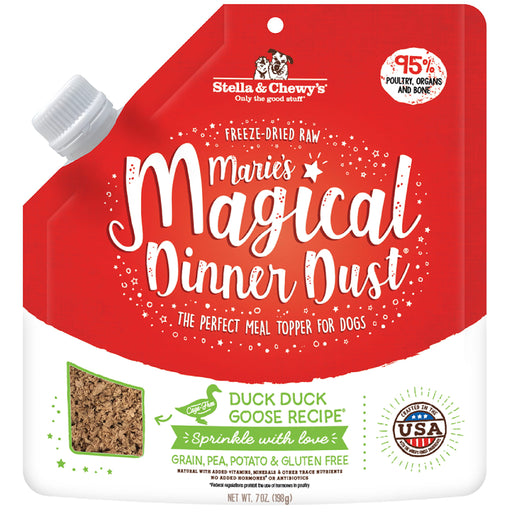 [PAWSOME] <b>$29.90:</b> Stella & Chewy Marie's Magical Duck Duck Goose Dinner Dust For Dogs