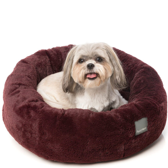 <b>15% OFF:</b> FuzzYard Eskimo Merlot Pet Bed