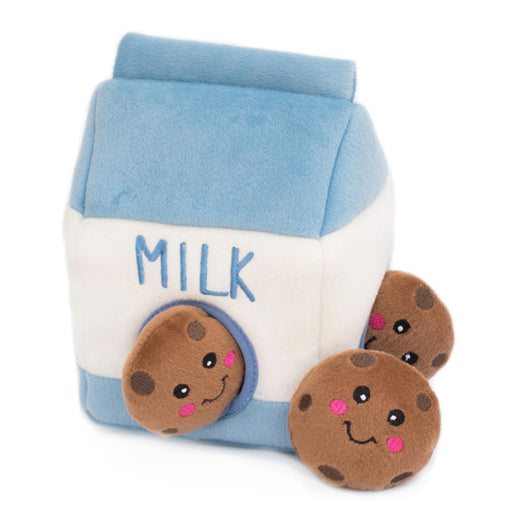 [PAWSOME] <b>15% OFF:</b> ZippyPaws Zippy Burrow Milk & Cookies Toy
