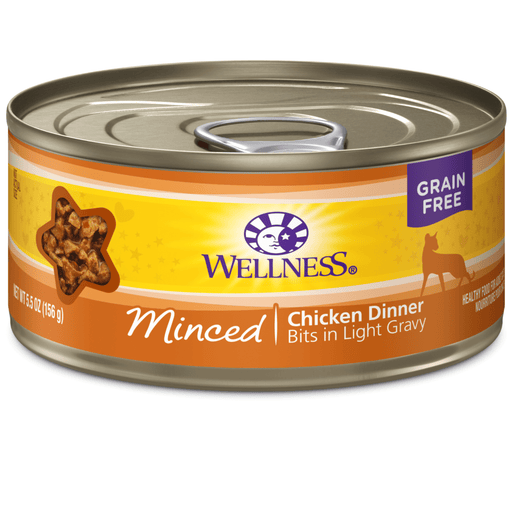 <b>15% OFF:</b> Wellness Complete Health Grain Free Minced Chicken Dinner Wet Cat Food