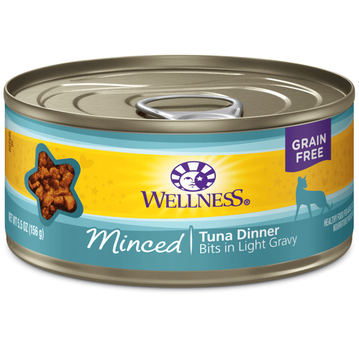 <b>15% OFF:</b> Wellness Complete Health Grain Free Minced Tuna Dinner Wet Cat Food