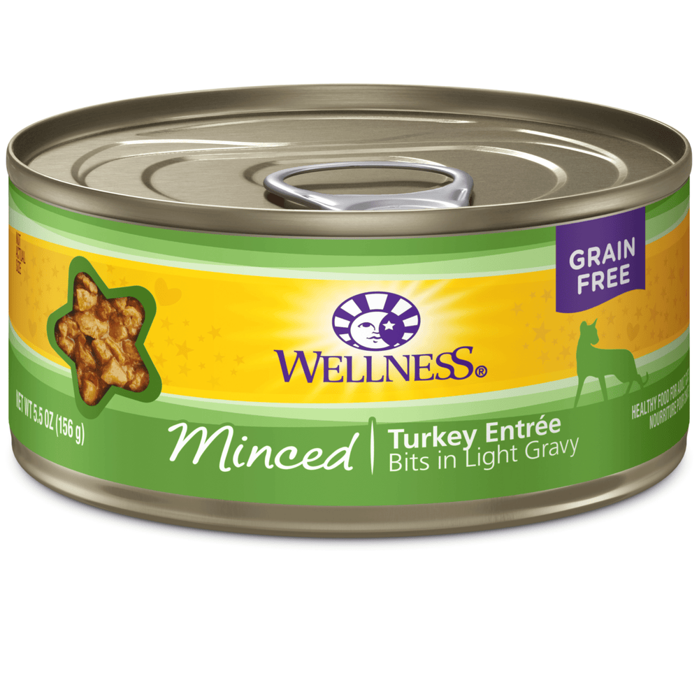 <b>15% OFF:</b> Wellness Complete Health Grain Free Minced Turkey Entrée Wet Cat Food