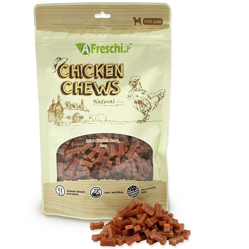 Afreschi Mini Chicken Bone Chews For Dogs