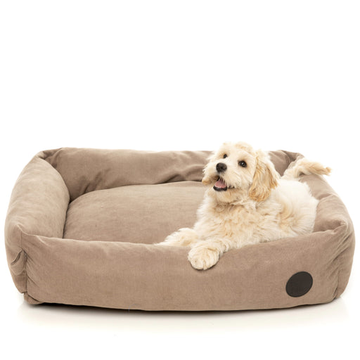 <b>15% OFF:</b> FuzzYard The Lounge Pet Bed In Mocha