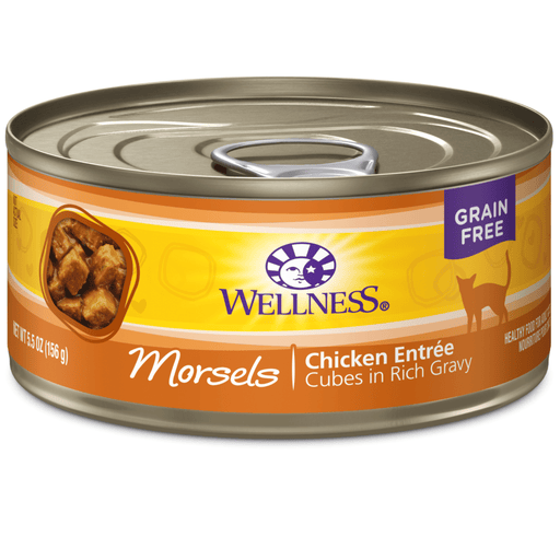 <b>15% OFF:</b> Wellness Complete Health Grain Free Morsels Chicken Entrée Wet Cat Food