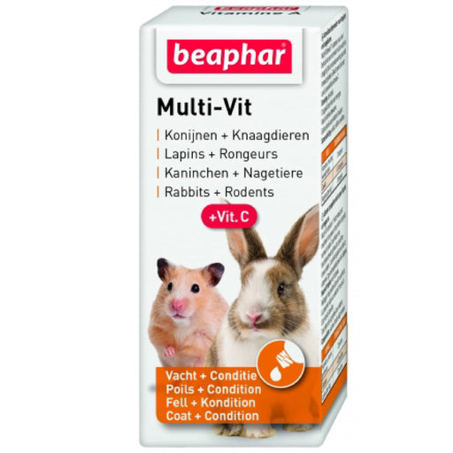 <b>10% OFF:</b> Beaphar Multi Vitamin Liquid For Small Animals