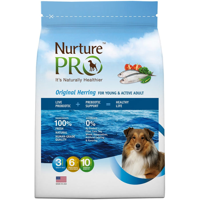 <b>20% OFF: </b> Nurture Pro Original Herring For Young & Active Adult Dry Dog Food