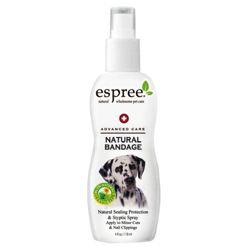 <b>15% OFF:</b> Espree Natural Bandage Spray (Stop Bleeding) For Dogs