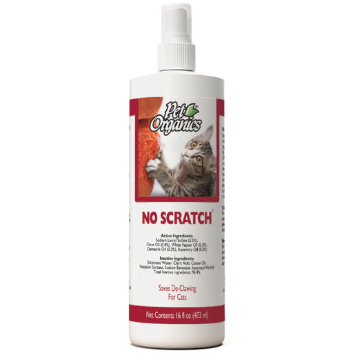 <b>20% OFF:</b> NaturVet Pet Organics No Scratch for Cats