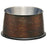 Loving Pets Artistic Antique Copper No-Tip Dog Bowl