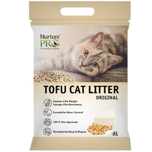 [PAWSOME] <b>2 FOR $15.80/4 FOR $30:</b> Nurture Pro Original Tofu Litter