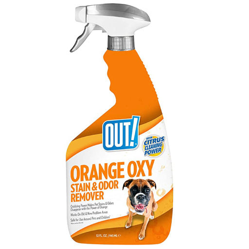 <b>10% OFF:</b> OUT! PetCare Orange Oxy-Fast Stain & Odour Remover Spray