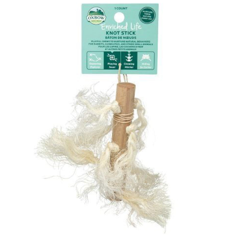 <b>20% OFF:</b> Oxbow Enriched Life Natural Chews Knot Stick