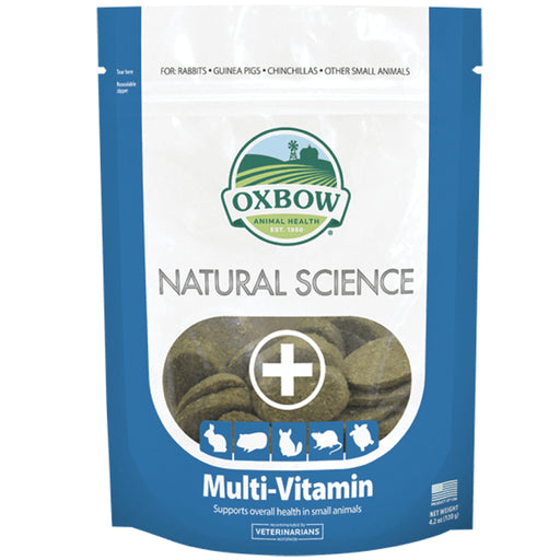 <b>20% OFF:</b> Oxbow Natural Science Multi-Vitamin Support For Small Animals