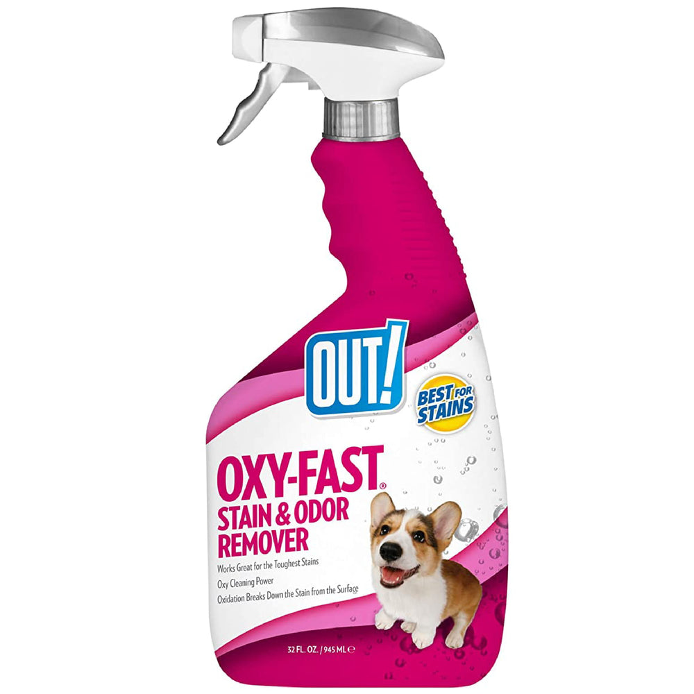 <b>10% OFF:</b> OUT! PetCare Oxy-Fast Stain & Odour Remover Spray