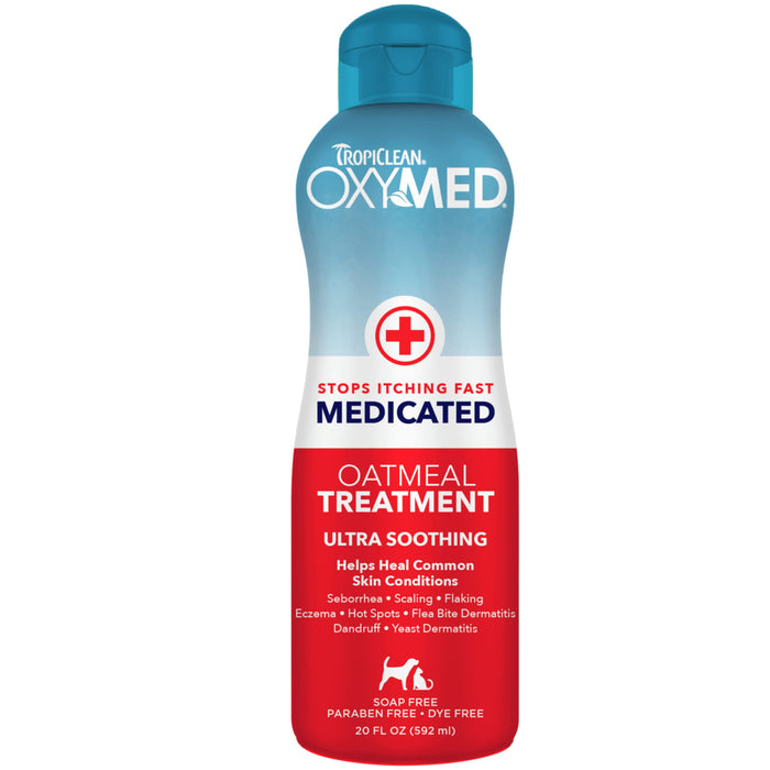 <b>15% OFF:</b> TropiClean OxyMed Medicated Oatmeal Treatment For Dogs & Cats