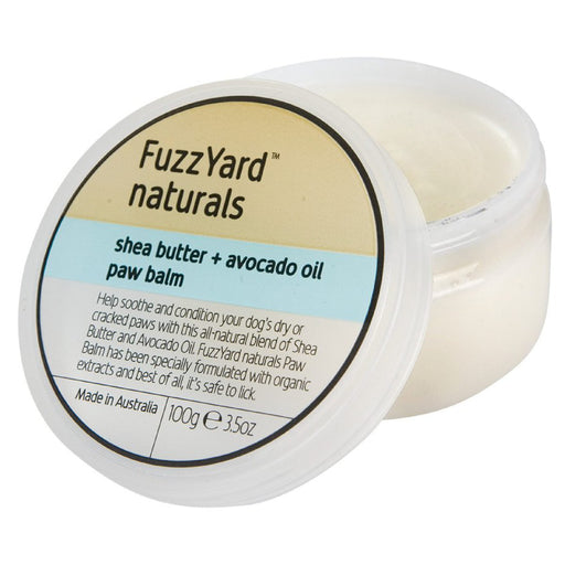 <b>15% OFF:</b> FuzzYard Shea Butter + Avocado Oil Paw Balm